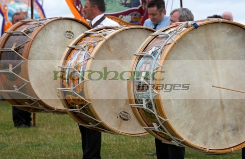 Orangemans day - twelfth - 12th July - lambeg drums