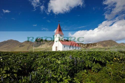 vik church vik i myrdal iceland