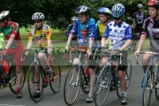 junior-cyclists-line-up-for-support-race-during-national-criterium-championships-ormeau-park-belfast-16th-June-2004