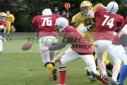 Irish-American-Football-League-Carrickfergus-Knights-v-belfast-bulls,-Belfast,-21st-March-2004