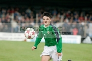 Northern-Ireland-7-Dominic-Melly-keeps-his-eye-on-the-ball-Northern-Ireland-v-Brazil,-Northern-Ireland-Milk-Cup-Elite-section-semi-final,-Coleraine-Showgrounds,-Northern-Ireland