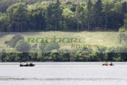people-boating-on-castlewellan-lake,-county-down,-northern-ireland.