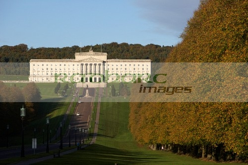 autumn in ireland - stormont parliament buildings