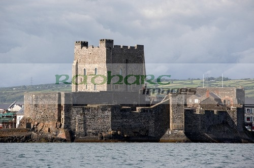 Belfast Lough - carrickfergus castle sea view