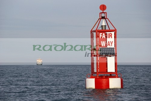 Belfast Lough - Fairway channel marker buoy navigation channel
