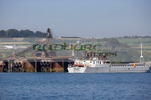 Belfast Lough - irish salt mining and exploration dock kilroot