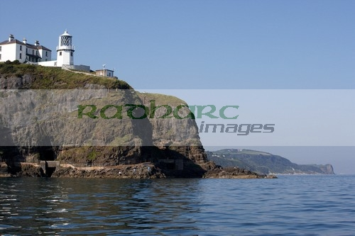 Belfast Lough - Blackhead lighthouse county antrim coastline sea view