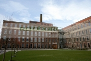 Mossley-Mill-headquarters-for-Newtownabbey-Borough-Council-formerly-flax-mill-Northern-Ireland-uk