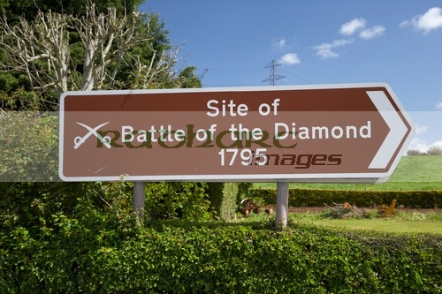 Orangemans day - twelfth - 12th July - battle of the diamond