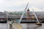 new-peace-bridge-in-Derry-city-county-londonderry-northern-ireland-uk.
