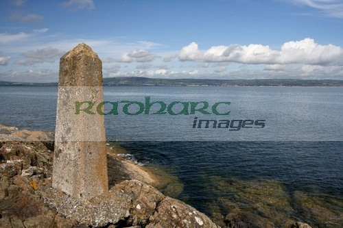 Belfast Lough - titanic speed marker grey point