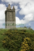 Scrabo-Tower,-Newtownards,-County-Down,-Northern-Ireland.