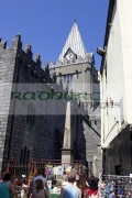 shoppers-in-market-outside-St-Nicholas-collegiate-church-Galway-city-county-Galway-Republic-Ireland