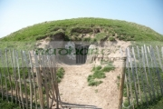 small-neolithic-passage-tomb-known-as-the-mound-the-hostages-on-the-hill-tara-teamhair-na-ri-hill-the-king-archaeological-complex-in-county-meath-republic-ireland