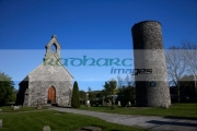 remains-St-Diags-monastery-round-tower-in-the-grounds-St-Marys-church-cemetary-in-inniskeen-county-monaghan-republic-ireland-eire