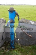 old-painted-manual-water-pump-field-supply-easkey-county-sligo-republic-ireland