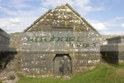 mausoleum-against-blue-cloudy-sky-in-the-Rock-Cashel,-Cashel,-County-Tipperary,-Republic-Ireland