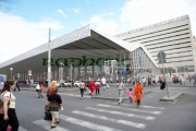 Pedestrian-crossing-outside-Roma-Termini-main-bus-train-station-Rome-Lazio-Italy