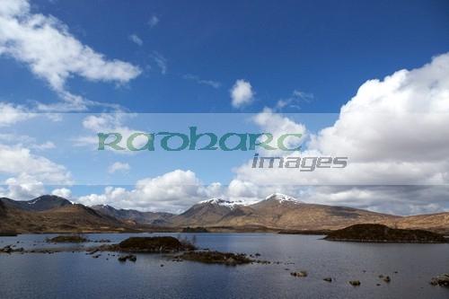 lochan na h-Achlaise Lochaber highland scotland