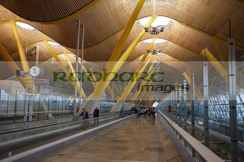 terminal 4 Madrid Barajas airport Spain