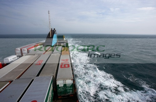 Irish Sea container ferry