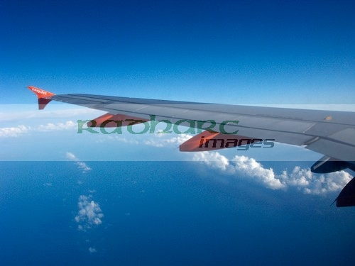 flying - over the irish sea