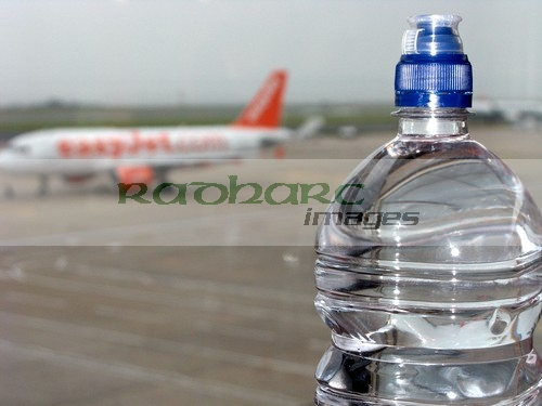 flying - expensive bottle of water at the airport