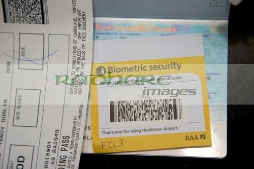 biometric security stamp in eu passport