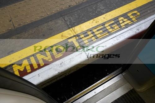 Mind the Gap - London underground