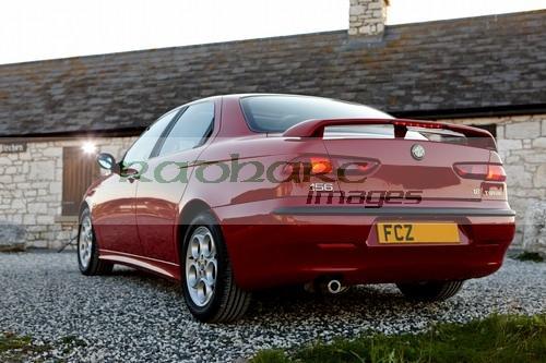 rear of Alfa Romeo 156