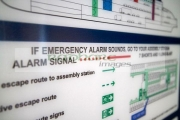 emergency-alarm-safety-instruction-information-inside-cabin-on-board-the-new-stena-edda-ferry-on-the-belfast-liverpool-ferry-route-northern-ireland-uk