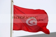 tunisian-flag-flying-in-hammamet-tunisia