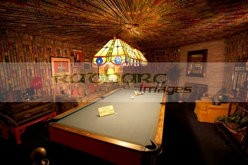 games room in Graceland