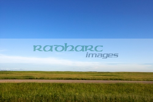 flat lands of North Dakota