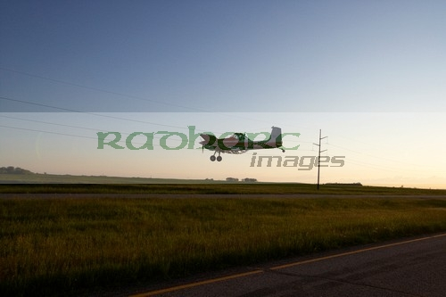 Crop duster North Dakota