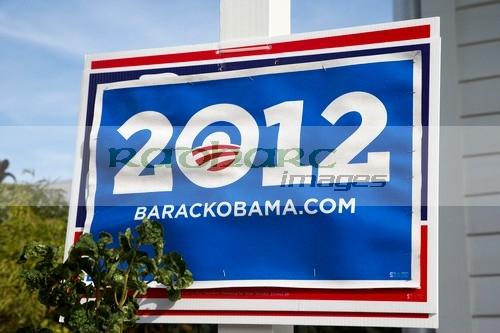 Barack Obama 2012 election poster Florida