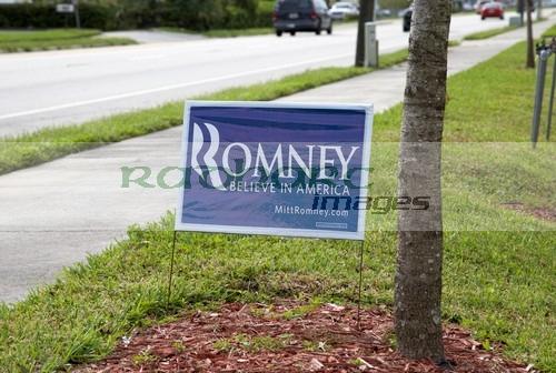 Mitt Romney 2012 election poster