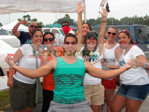 Miami Dolphins tailgate party