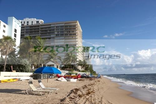 Fort Lauderdale beach shoreline