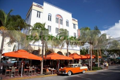 Art Deco district Miami Beach