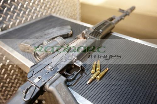 AK-47 in Las Vegas Range