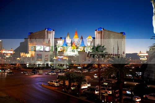 Las Vegas and Excalibur hotel