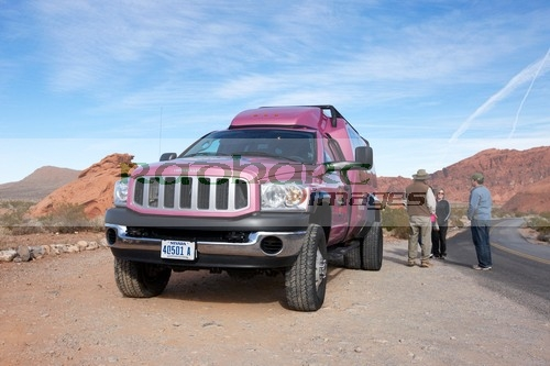 Valley of Fire Big Pink Jeep Tours