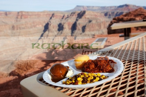 lunch at Grand Canyon at Guano Point